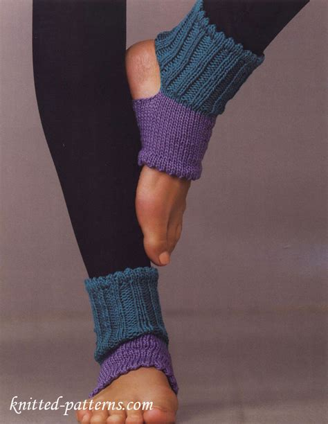 yoga socks pattern knit knitted yoga socks