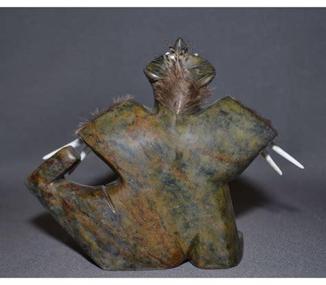 eskimo soapstone carvings eskimo soapstone carving r g munn auction llc