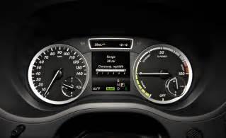 2014 mercedes b class electric drive interior cockpit