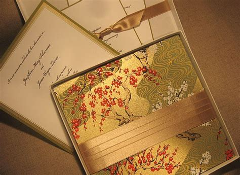 asian theme wedding invitations source dochelle