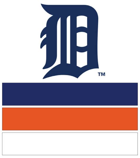 detroit tigers colors mlb