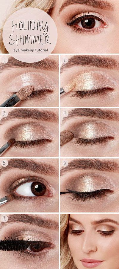 Eyeshadow Hack eyeshadow hacks tips tricks makeup tutorials for brown chagne eyeshadow eyeshadow