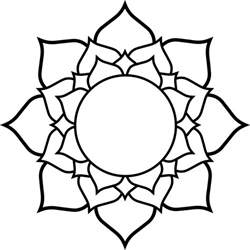 Simple Lotus Drawing Lotus Flower Line Drawing Clipart Best