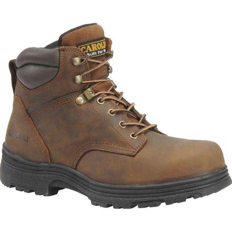 carolina shoes carolina s 6in steel toe eh slip resistant waterproof
