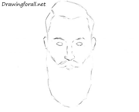 a mustache is a hard thing to draw with a mouse in how to draw a beard drawingforall net