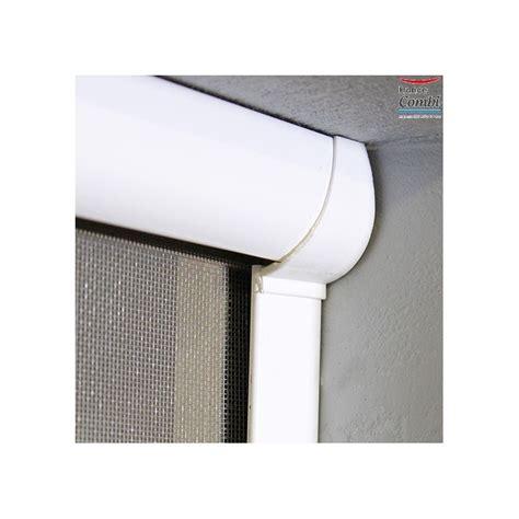 porte moustiquaire enroulable store moustiquaire recoupable moustikit en aluminium pour