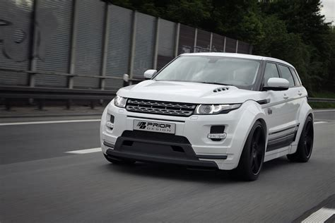 Prior Kits by Range Rover Evoque Creates A Widebody Kit By Prior Design