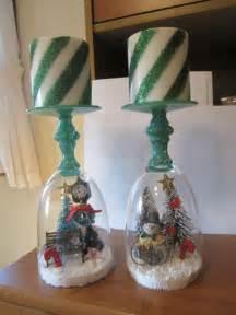 bicchieri di vetro portacandele natalizi con bicchieri di vetro fai da te 20