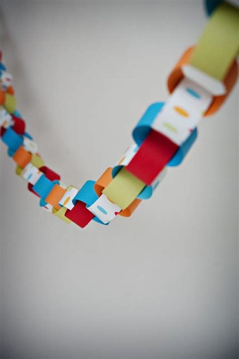 Paper Chains - paper chain decorations www pixshark images