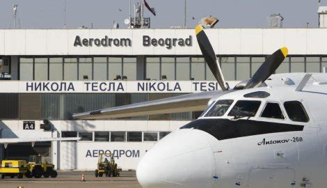 Aerodrom Nikola Tesla Beograd Bg Aerodrom Pada Broj Letova Informacija Je Kapital