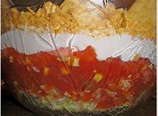 Nacho - Schicht - Salat von sandra-ko | Chefkoch.de Nacho Salat