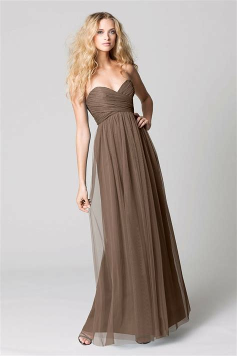 Brown Bridal by 17 Best Images About Brown Bridesmaid Dresses On