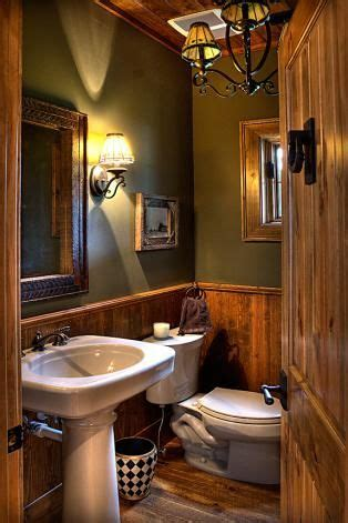 rustic bathroom beautiful light fixtures make mine