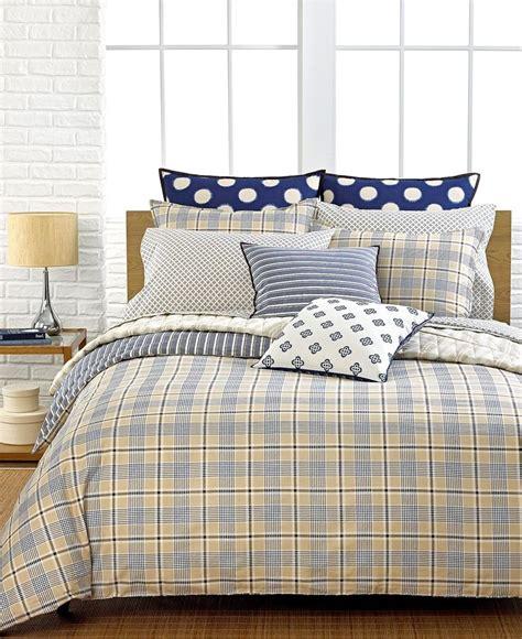 Hilfiger Plaid Comforter by Hilfiger Bedding Spectator Plaid Comforter