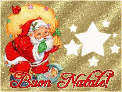 gif card buon natale merry christmas buone feste