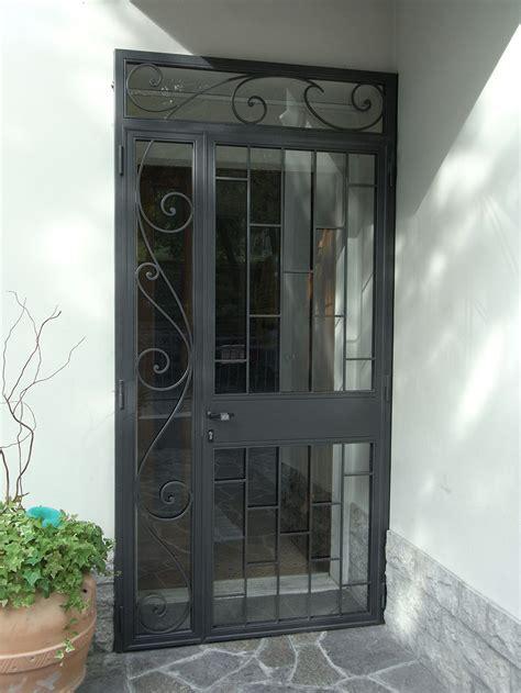porte in ferro per interni porta di sicurezza in ferro verniciato e motivi in ferro