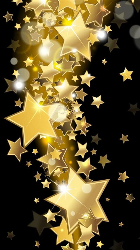 wallpaper gold hd for iphone 6 人気215位 designs golden stars iphone 6 plus wallpapers