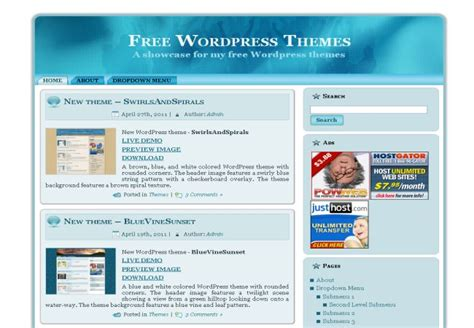 the best elegant wordpress theme 2013 free download