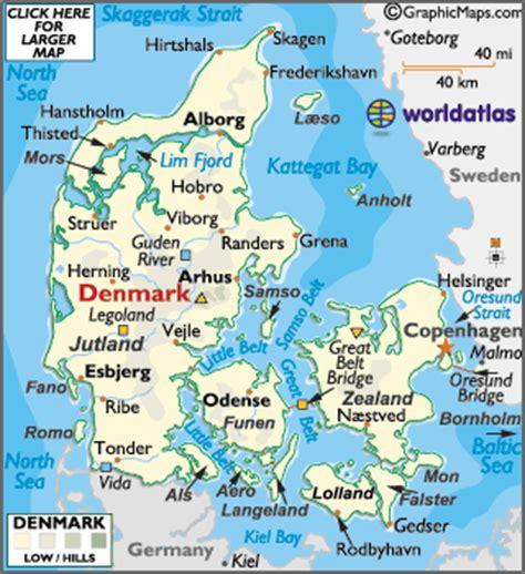 netherlands latitude longitude map map of denmark