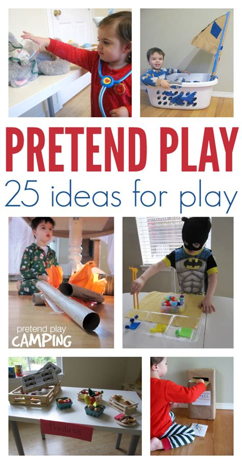 roleplay biography ideas 25 easy pretend play ideas no time for flash cards