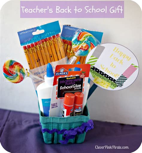 gift ideas for school back to school gift