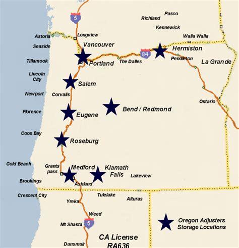 map of oregon border california oregon border map california map