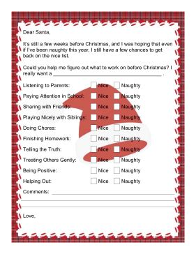 free download secret santa questionnaire just brennon letter to santa checklist