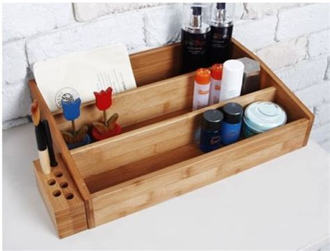 Wooden Makeup Drawers by 25 Best Ideas About Wooden Makeup Organizer On