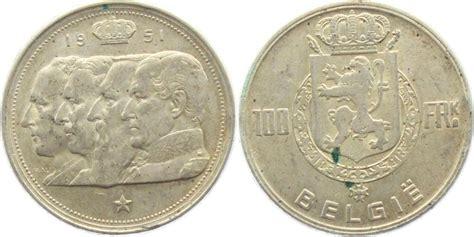 möbel belgien eupen 100 franks 1951 belgien belgische k 246 nige aef ma shops