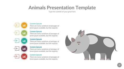 powerpoint templates zoo free animals powerpoint presentation template by rengstudio