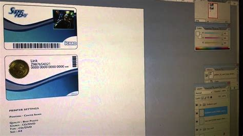 pvc card photoshop template epson pvc id card tray tutorial