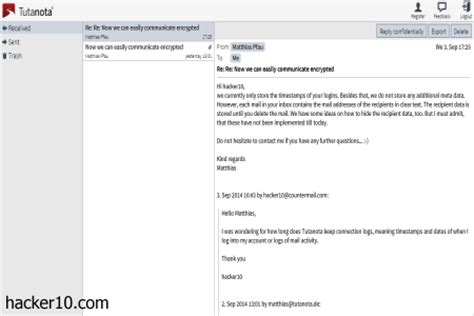 email exchange free encrypted webmail service tutanota hacker 10