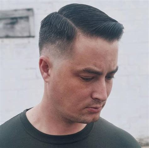 5 haircut size 24 crew cut fade haircuts classic neat look for men