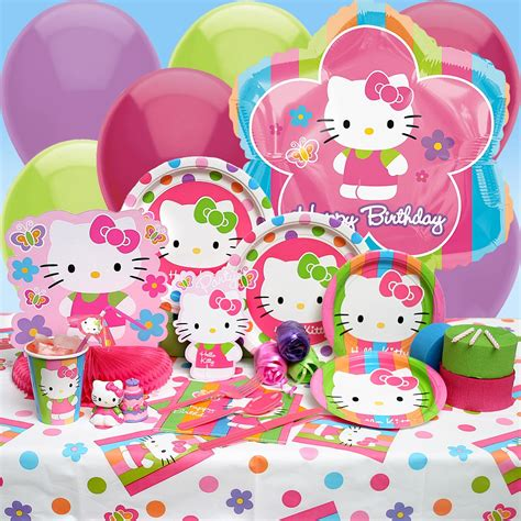 hello kitty themes party sealed with a kiss