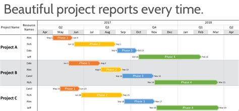 timeline software  microsoft project onepager pro
