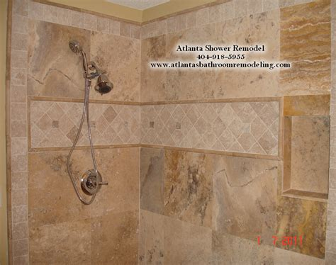 travertine shower ideas atlanta travertine shower remodeling ideas and pictures