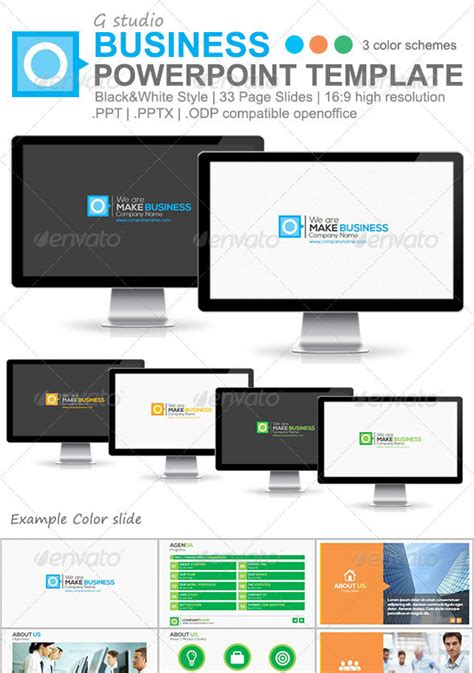 Powerpoint Templates For Website Presentation 25 Creatively Designed Powerpoint Templates Web Graphic Design Bashooka