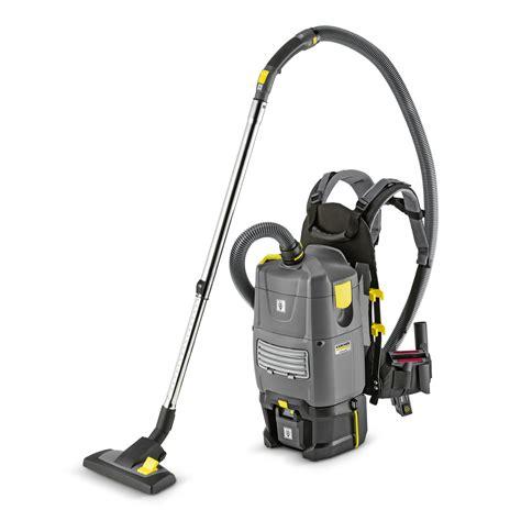cordless backpack vacuum cleaner bv  bp kaercher