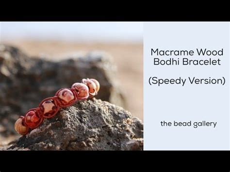the bead gallery honolulu wood macrame bodhi bracelet mini tutorial at the bead