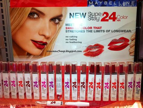 maybelline 24 hour color maybelline stay 24 hour lipstick helen quinn