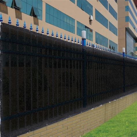 privacy screen for fence 25ft 50ft privacy screen mesh fence cover windscreen fabric for 4ft 6ft fencing ebay