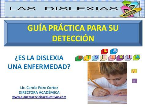 discalculia test detectar la dislexia una gu 237 a pr 225 ctica