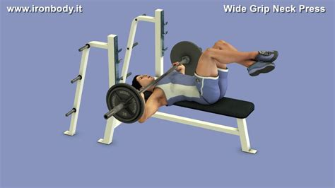 bench press neck vince gironda neck press youtube
