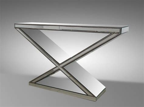 Mirrored Console Table Next Mirrored Console Table With Shelf Home Design Ideas