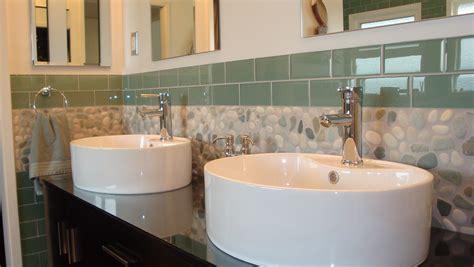 Bathroom Sink Backsplash Ideas by 27amazing Bathroom Pebble Floor Tiles Ideas And Pictures