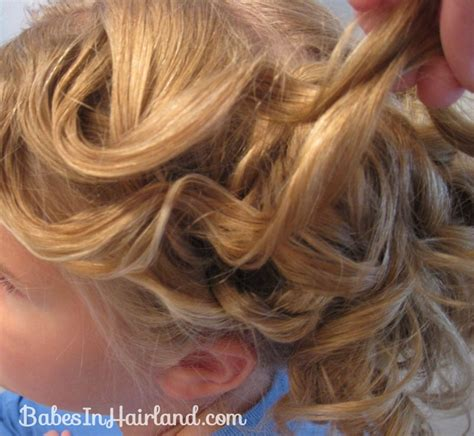 Curls Pinned Up Hairstyles by Cascading Pinned Up Curls In Hairland