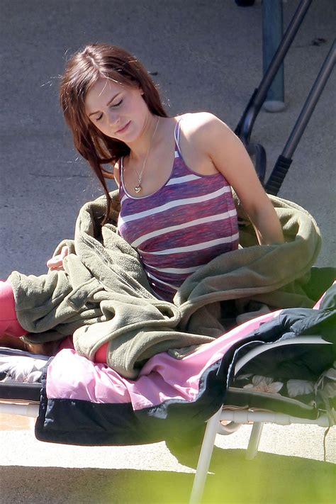 emma watson ring emma watson on the set of the bling ring in los angeles