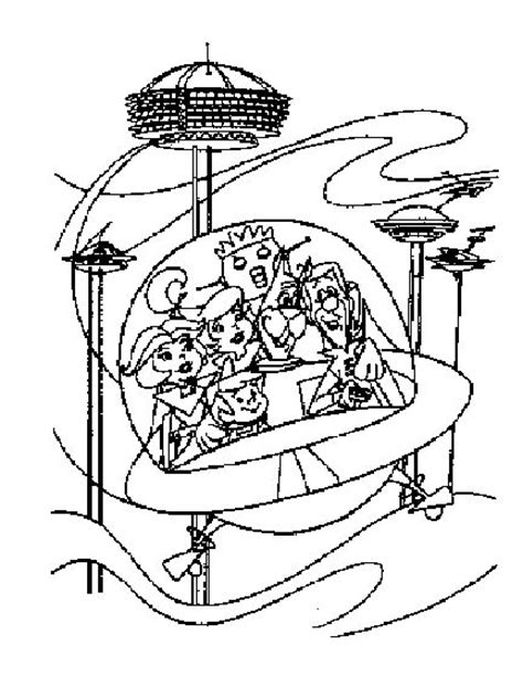 coloring pages of the jetsons jetson coloring pages and printables jetsons care
