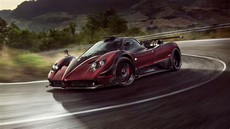 pagani zonda 2017 pagani zonda fantasma evo 4k wallpaper hd car