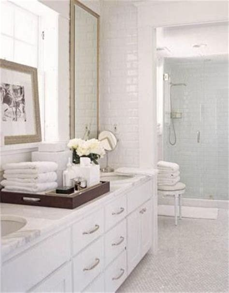 How To Clean Marble Countertops In Bathrooms by Clean Crisp White Bathroom Design With White Carrara